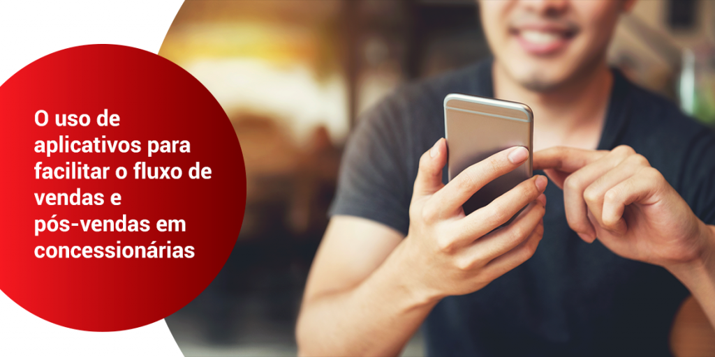 O uso de aplicativos para facilitar o fluxo de vendas e pós-vendas em concessionárias